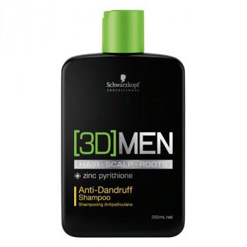 Schwarzkopf 3D MEN Anti-Schuppen Shampoo 250 ml