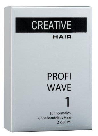 Creative Hair Profi Wave 1 normales/unbehandeltes Haar 2 x 80 ml