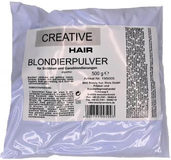 Creative Hair Blondierung Blondierpulver staubfrei 500 g.