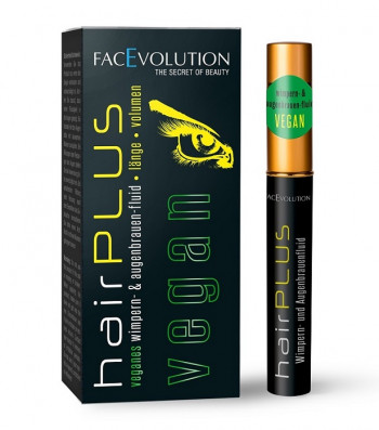 Hairplus Facevolution VEGAN Wimpernserum und Augenbrauenserum 4,5 ml