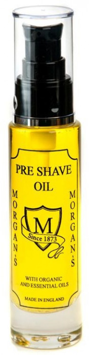 Morgan's Pre Shave Oil Glas Bottle 50 ml