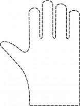Comair Einweghandschuhe Damen 0,018 x 235 x 280 mm SPEZIAL gehämmert 100 Stk.