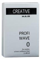 Creative Hair Profi Wave 0 starkes/schwer wellbares Haar 2 x 80 ml