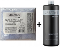 Creative Hair SET Blondierung 500 g + Creative Hair Creme Oxydant 6% 1000 ml