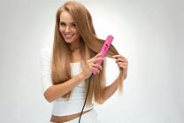 Golden Curl The Pink Titanium Haarglätter