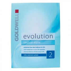 Goldwell Evolution Dauerwell-Set 2 coloriertes oder gesträhntes Haar bis zu 50 %