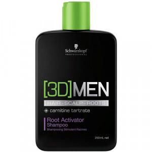 Schwarzkopf 3D MEN Aktivierendes Shampoo
