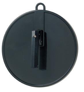 Comair Kabinett-Handspiegel mit Griff und Aufhängeöse schwarz