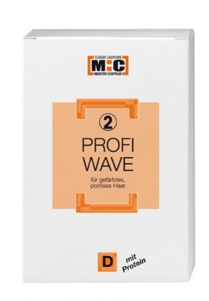 M:C Profi Wave Dauerwellnachbehandlung D2 gefärbtes poröses Haar 2x80 ml