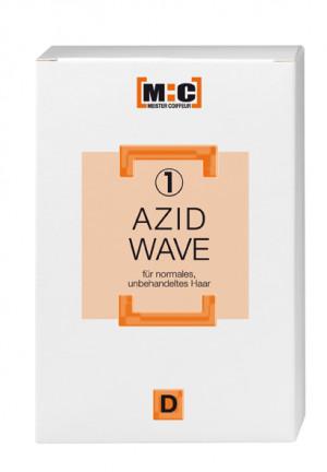 M:C Azid Wave D1 normales unbehandeltes Haar 2x80 ml