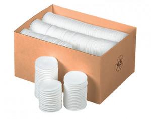 Comair Wattepads 500 Stück 100% Baumwolle