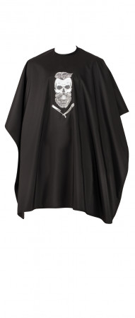 Comair Umhang Barber Skull schwarz