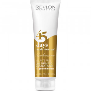 Revlonissimo 45 Days Golden Blondes 2in1 Shampoo & Conditioner 275 ml
