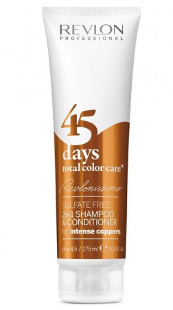 Revlon Revlonissimo 45 Days intense Copper 2in1 Shampoo & Conditioner 275 ml