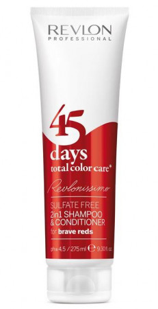 Revlonissimo 45 Days brave Red 2in1 Shampoo & Conditioner 275 ml