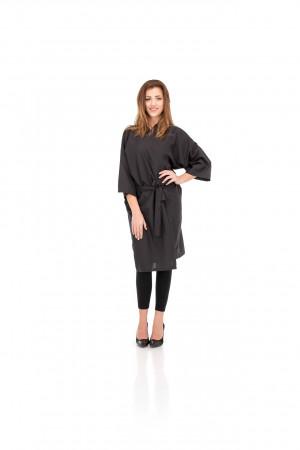 Umhang Kimono schwarz