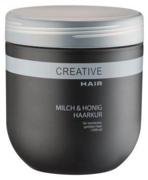 Creative Hair Milch & Honig Haarkur trockenes/sprödes Haar 1000 ml