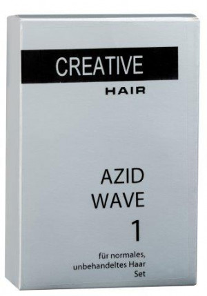 Creative Hair Azid Wave 1 normales/unbehandeltes Haar 2 x 80 ml