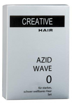 Creative Hair Azid-Wave 0 starkes/schwer wellbares Haar 2 x 80 ml