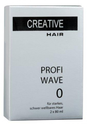 Creative Hair Profi Wave 0 starkes/schwer wellbares Haar 2 x 80 ml