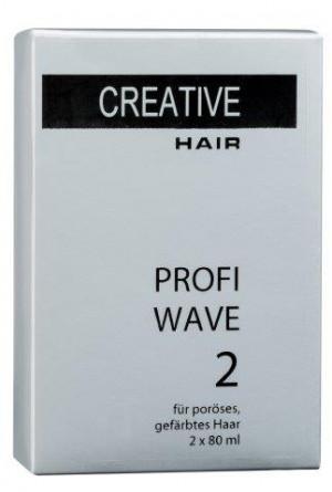 Creative Hair Profi Wave 2 poröses/gefärbtes Haar 2 x 80 ml