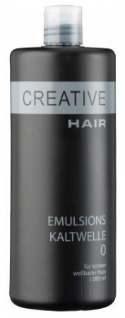 Creative Hair Emulsions-Kaltwelle 0 schwer wellbares Haar 1000 ml