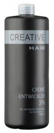 Creative Hair Creme Entwickler 3 % 1000 ml