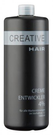 Creative Hair Creme Entwickler 4 % 1000 ml