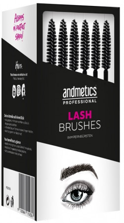 andmetics Lash Brush 80 Stück