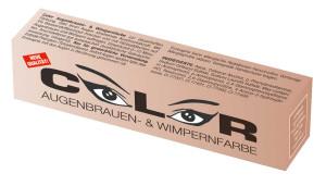 Comair Color Augenbrauen & Wimpernfarben lichtbraun 15 ml