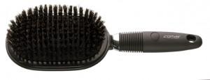 Comair Bürste Jumbo Paddle Brush mit Wildschweinborsten 13-reihig