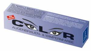 Comair Color Augenbrauen & Wimpernfarben blau 15 ml