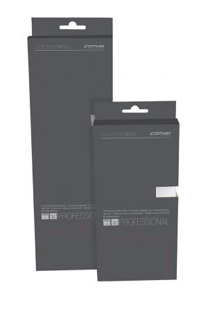 Comair Color Stripes kurz 9,5 x 20 cm silber, 200 Blatt