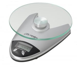 Comair Digitalwaage Q92 mit Glaswiegefläche silber