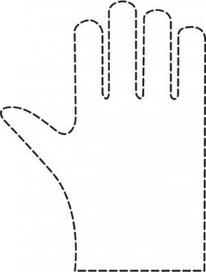 Comair Einweghandschuhe Damen 0,019 x 240 x 290 mm gehämmert 100 Stk.