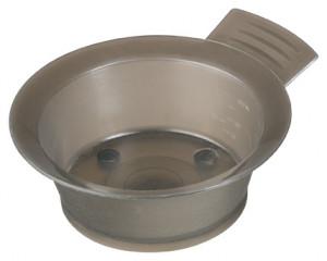 Comair Färbeschale transparent schwarz 200 ml
