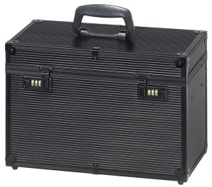 Comair Werkzeugkoffer Profi schwarz Aluminium mit Zahlenschloss