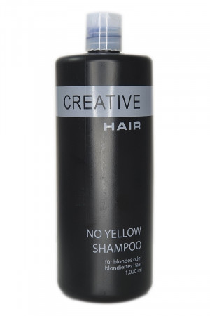 Creative Hair No Yellow Anti Gelbstich Shampoo 1000 ml