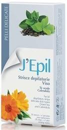 XanitaliaPro Enthaarungsstreifen für den Körper mit Grün Tee und Calendula 20 Stück