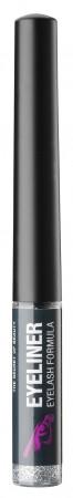 Facevolution Eyeliner Eyelash Formula silver mit Glitter 1,5 ml