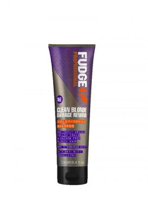 Fudge Clean Blonde Damage Rewind Violet-Toning Shampoo 250 ml