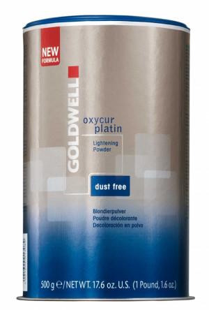 Goldwell Oxycur Platin Dust Free Blondierpulver 500 g