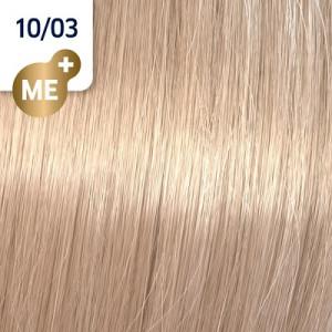 Wella Koleston Perfect ME+ 10/03 hell-lichtblond natur-gold 60 ml Pure Naturals