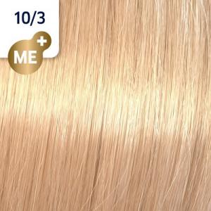 Wella Koleston Perfect ME+ 10/3 hell-lichtblond gold 60 ml Rich Naturals