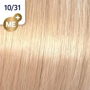 Wella Koleston Perfect ME+ 10/31 Hell Lichtblond Gold Asch 60 ml Rich Naturals