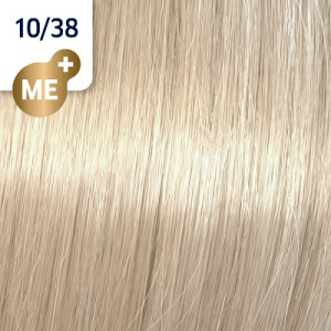 Wella Koleston Perfect ME+ 10/38 hell-lichtblond gold-perl 60 ml Rich Naturals