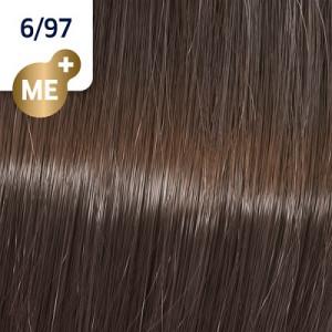 Wella Koleston Perfect ME+ 6/97 Dunkelblond Cendré-Braun 60 ml Rich Naturals