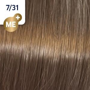 Wella Koleston Perfect ME+ 7/31 Mittelblond Gold-Asch 60 ml Rich Naturals