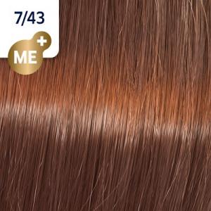 Wella Koleston Perfect ME+ 7/43 mittelblond rot gold 60 ml Vibrant Reds