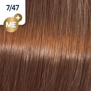 Wella Koleston Perfect ME+ 7/47 mittelblond rot-braun 60 ml Vibrant Reds